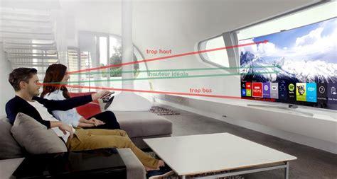 à Quelle Hauteur Fixer Une Tv Au Mur by Trouvez L Emplacement Id 233 Al Pour T 233 L 233 Viseur Conseils
