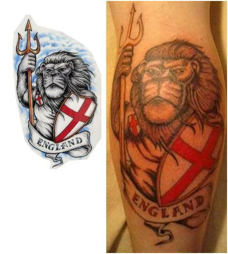 english lion tattoo designs designs