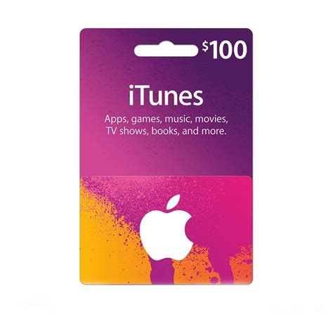 Itunes Store Gift Cards - itunes gift card 100 usa