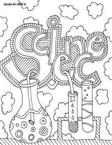 Free Printable Science Coloring Pages printable science coloring page srp 2014