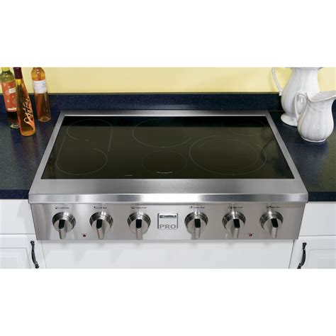 Portable Gas Cooktop Jenn Air Jed3430ws 30 Quot Electric Radiant Downdraft
