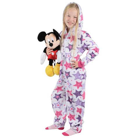fleece all in one pyjamas for toddlers cosy fleece onesie all in one pyjamas sleepsuit pjs