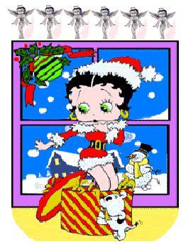 imagenes navidad betty boop compartiendo con betty boop im 225 genes navidad betty boop