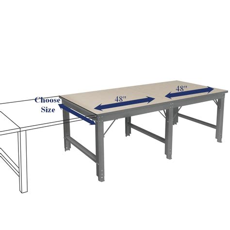 48 x 48 table cutting table 48 quot x 60 quot