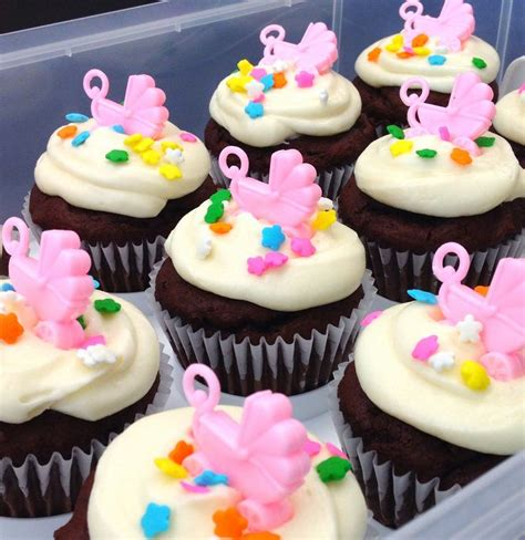 baby themed cupcake decorations 17 best images about baby shower cupcakes on