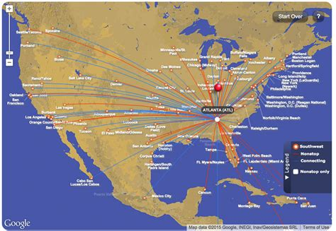 flying with a southwest southwest flights map my