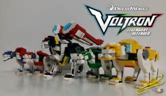 lego voltron legendary defender robot and bust concepts