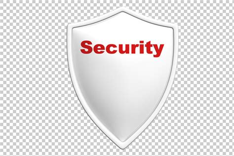 security badge template security shield 3d render png graphics on creative market