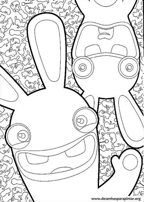 rabbids invasion coloring pages rabbids invasion free coloring pages