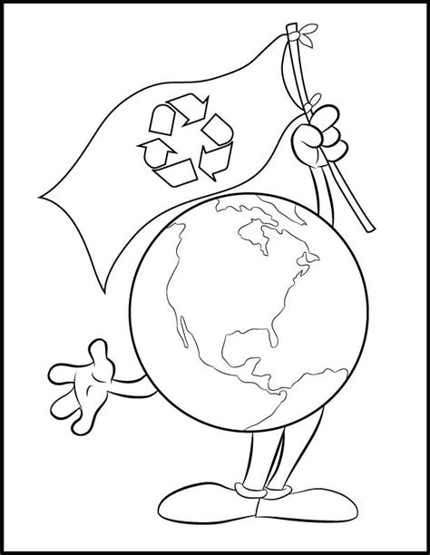 dibujos de reciclaje para colorear az dibujos para colorear bandera ecologica dibujalia dibujos para colorear