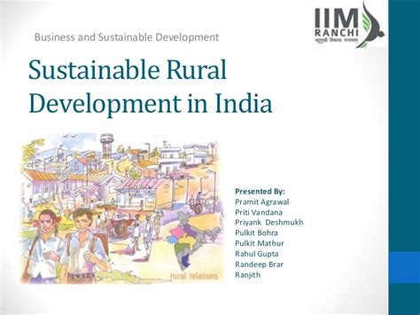 sustainability in urban and rural development what you sustainable rural development group 7