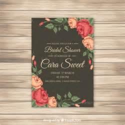 invitaci 243 n de despedida de soltera con rosas descargar