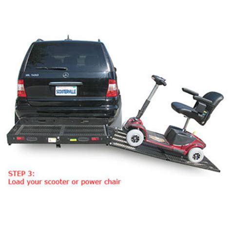 power chair carriers for cars fold a r far 250 scooter and power chair carrier fold