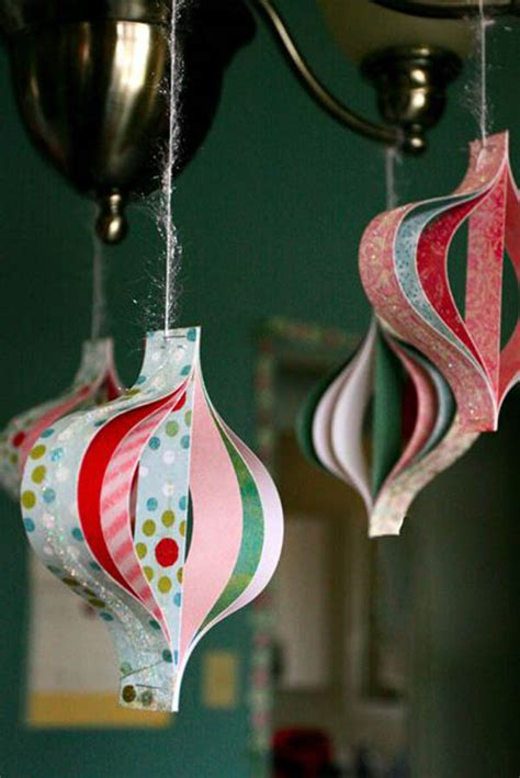 25 paper christmas decoration ideas you ll love feed