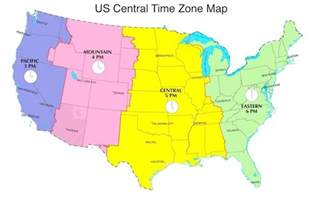 central daylight time in us now cdt now us time zones map