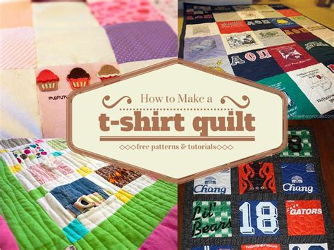 how to make t shirt quilt pattern how to make a t shirt quilt quilt souvenirs and block