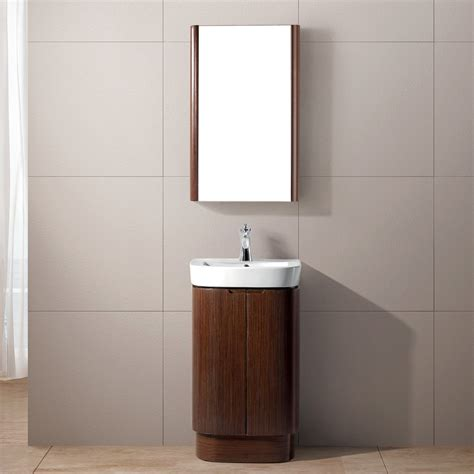 Vigo 20 Quot Calantha Single Bathroom Vanity With Medicine 20 Inch Bathroom Vanity Cabinets