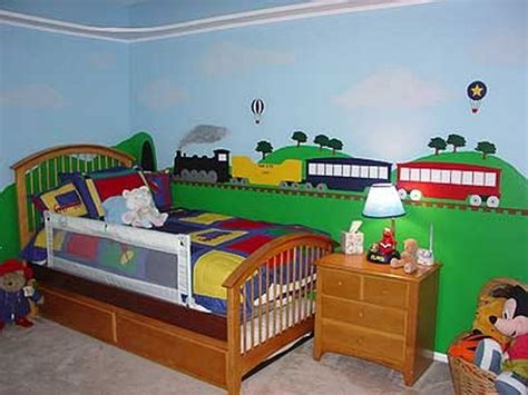 train bedroom ideas 18 colorful wall murals for children s room