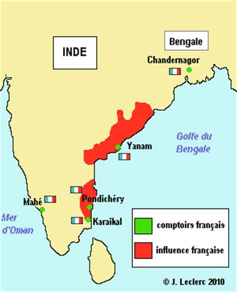 Comptoirs Français En Inde inde 201 tablissements fran 231 ais