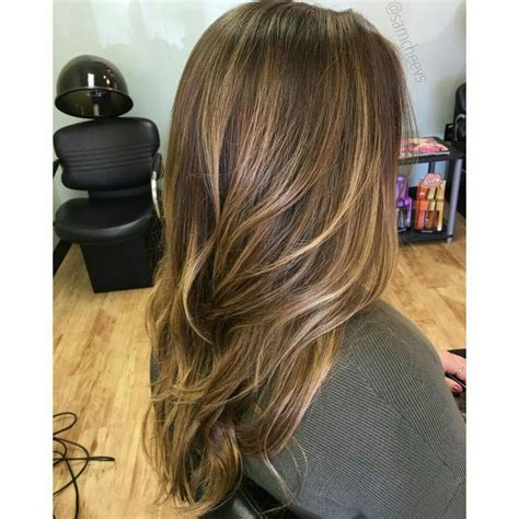 partial highlights for brunettes best 25 partial highlights ideas on pinterest partial