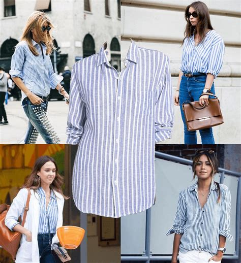 White And Blue Shirt white and blue striped button up shirts fashionhedge