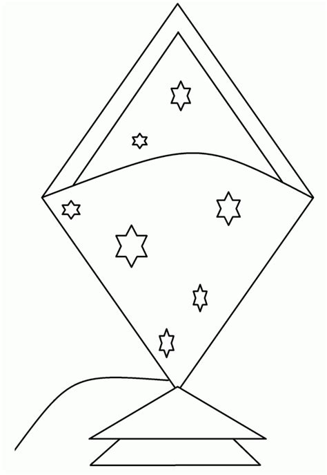 kite coloring page printable free printable kite coloring pages for kids