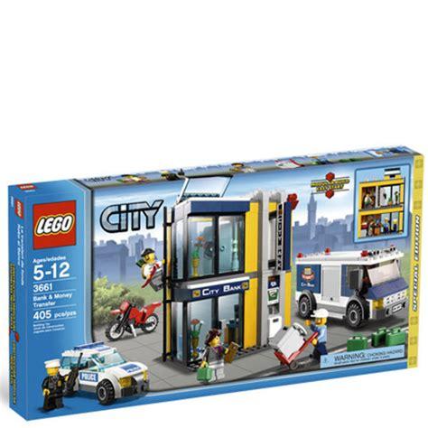 Banc Lego by Lego City Bank And Money Transfer 3661 Toys Thehut