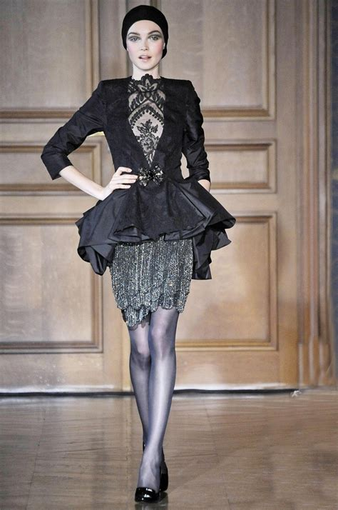 Christian Lacroix Couture by Christian Lacroix Haute Couture Autumn Winter 2009 10 On