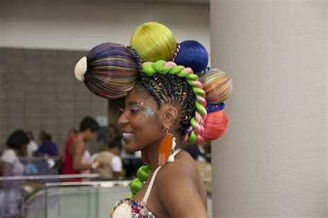 list of exhibitors from the bronner bros show 17 craziest hair show styles