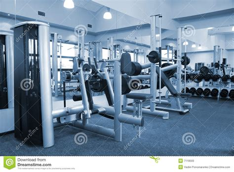 exercise equipment in bedroom gym equipment room stock photos image 7118593