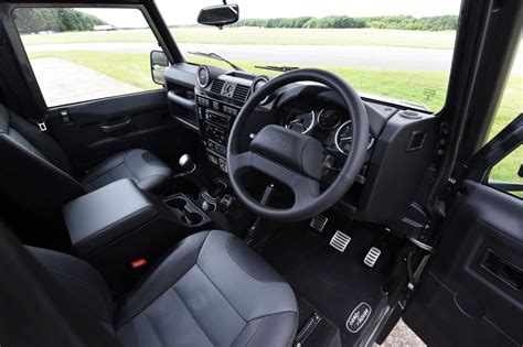 defender land rover interior land rover defender 110 adventure pictures auto express