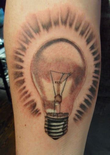 lightbulb tattoo creative designs light bulb