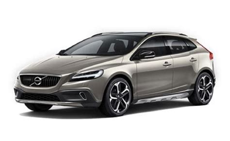 cost of volvo v40 volvo v40 cross country india price review images