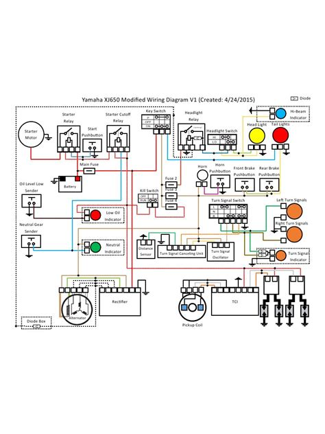 xj650 wiring diagram wiring diagram with description