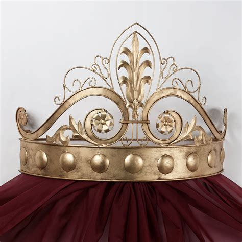 bed crowns lamoreaux wall teester bed crown