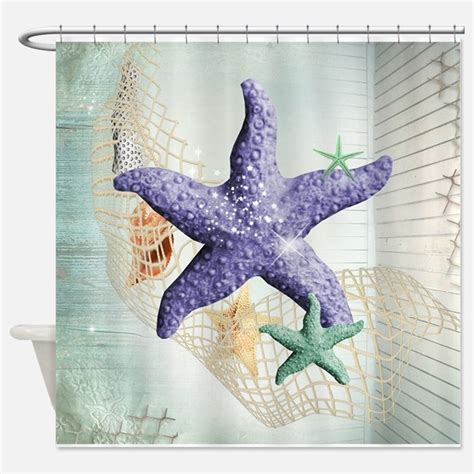 Where Is The Sea Of Showers by Sea Shells Shower Curtains Sea Shells Fabric Shower