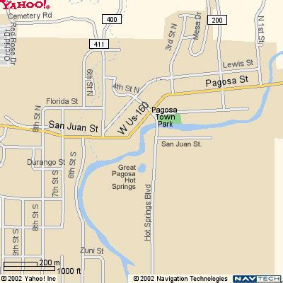 map of colorado pagosa springs directions to pagosa springs colorado maps of pagosa
