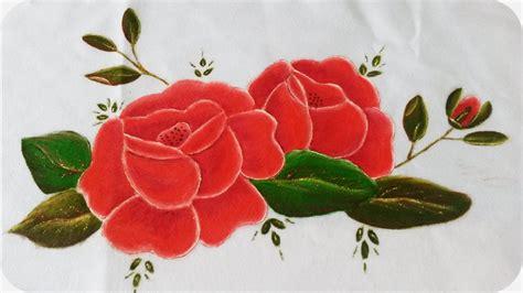 imagenes de uñas pintadas rosa rosas rojas pintura sobre tela 2 2 youtube