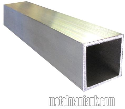 aluminium box section 1 inch 25 4mm x 1 inch x 1 5mm