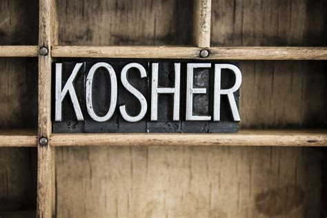 kosher cucina kosher ou kosher certification