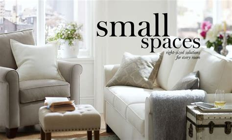pottery barn small spaces decor for small spaces pottery barn home pinterest