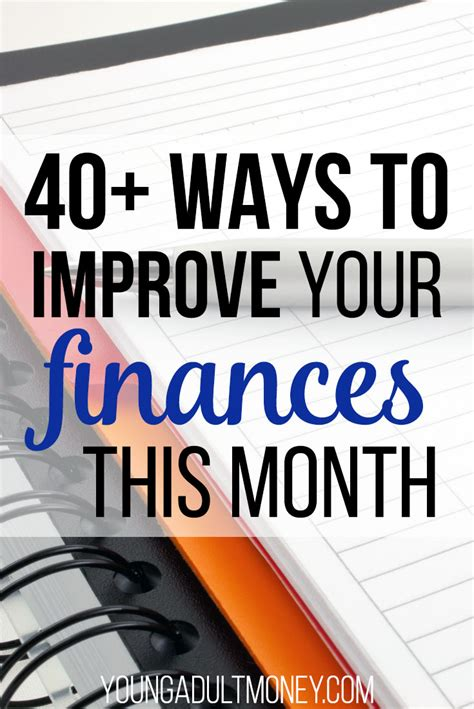 more than 100 ways to improve your college luck ebook 40 ways to improve your finances this month young adult