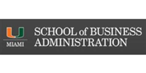 Of Miami Mba by Course Global Executive Mba In Springest