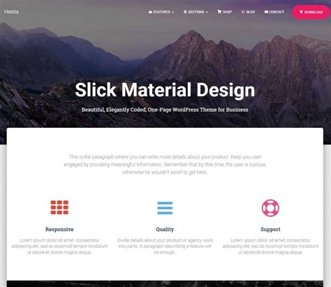 wordpress theme layout builder free 55 best free wordpress themes and templates for 2018