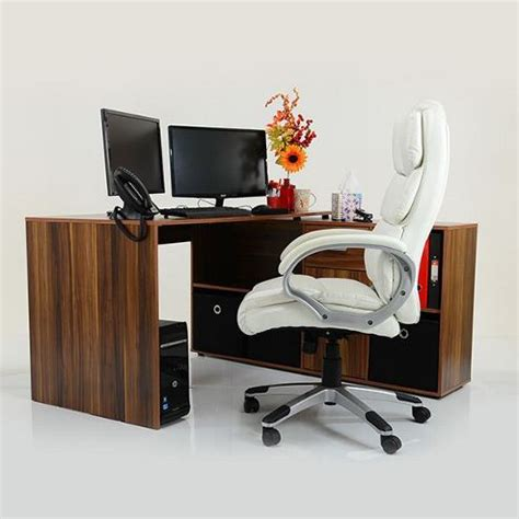 Dwell Office Desk Buy Stanton Corner Multi Position Office Desk Wood Black Drawers From Our Workstations