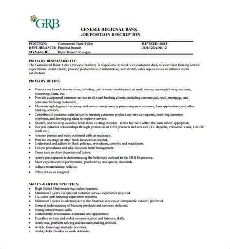 commercial manager description commercial manager description performance