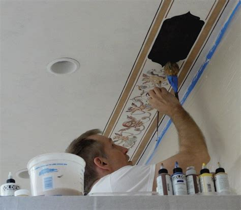 How To Ceiling For Painting by Ceiling Painting The Best Techniques Ideas Exmaples