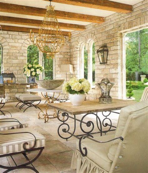 Putting It Together An Outdoor Room by Gorgeous Veranda With Wood Beams And To Contrast