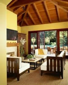 Rustic Yellow Living Room Hgtv » Home Design