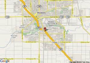 modesto california map map of california inn modesto modesto